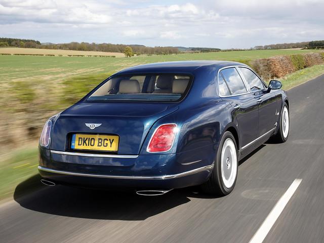 Bentley Mulsanne II для рынка Британии. 2010 – 2016 годы