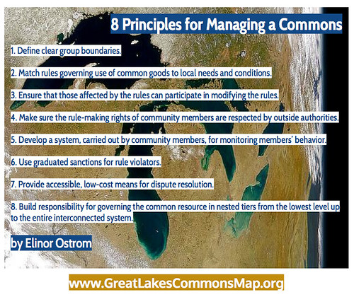8 principles for commons