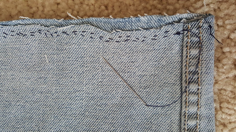Crooked Double Stitch