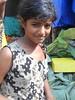 In the flowers market in Kolkata: delicious and so young (12)