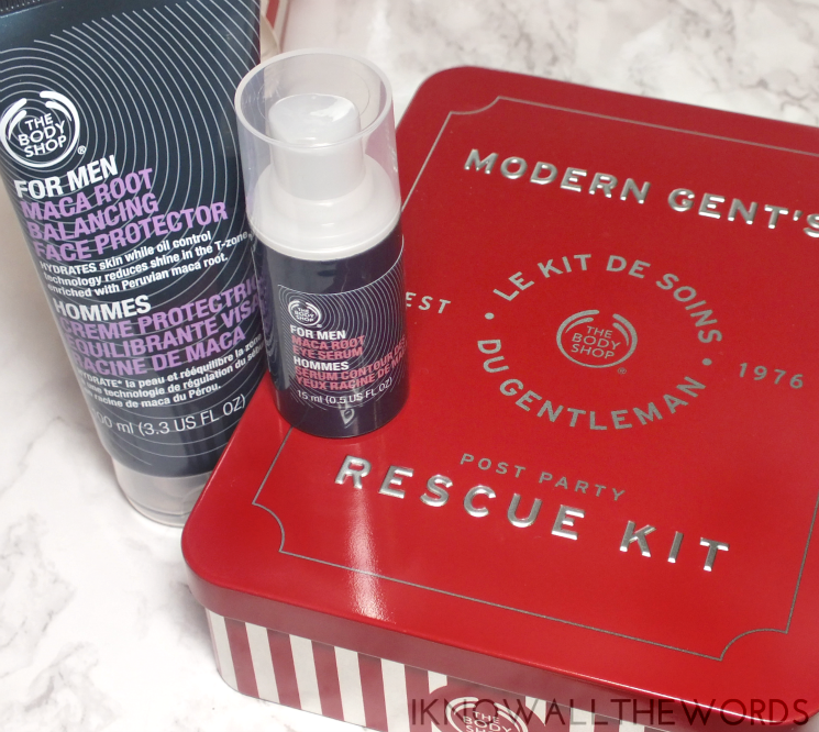 the body shop holiday 2015 modern gents post party rescue kit