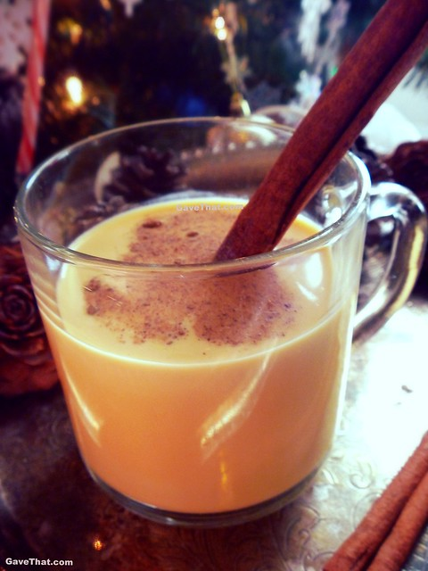 Homemade Old Fashioned Eggnog