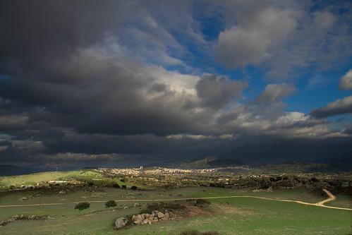 """nuoro (NU) vista panoramica loc. """" tres nuraghes""""-2"""