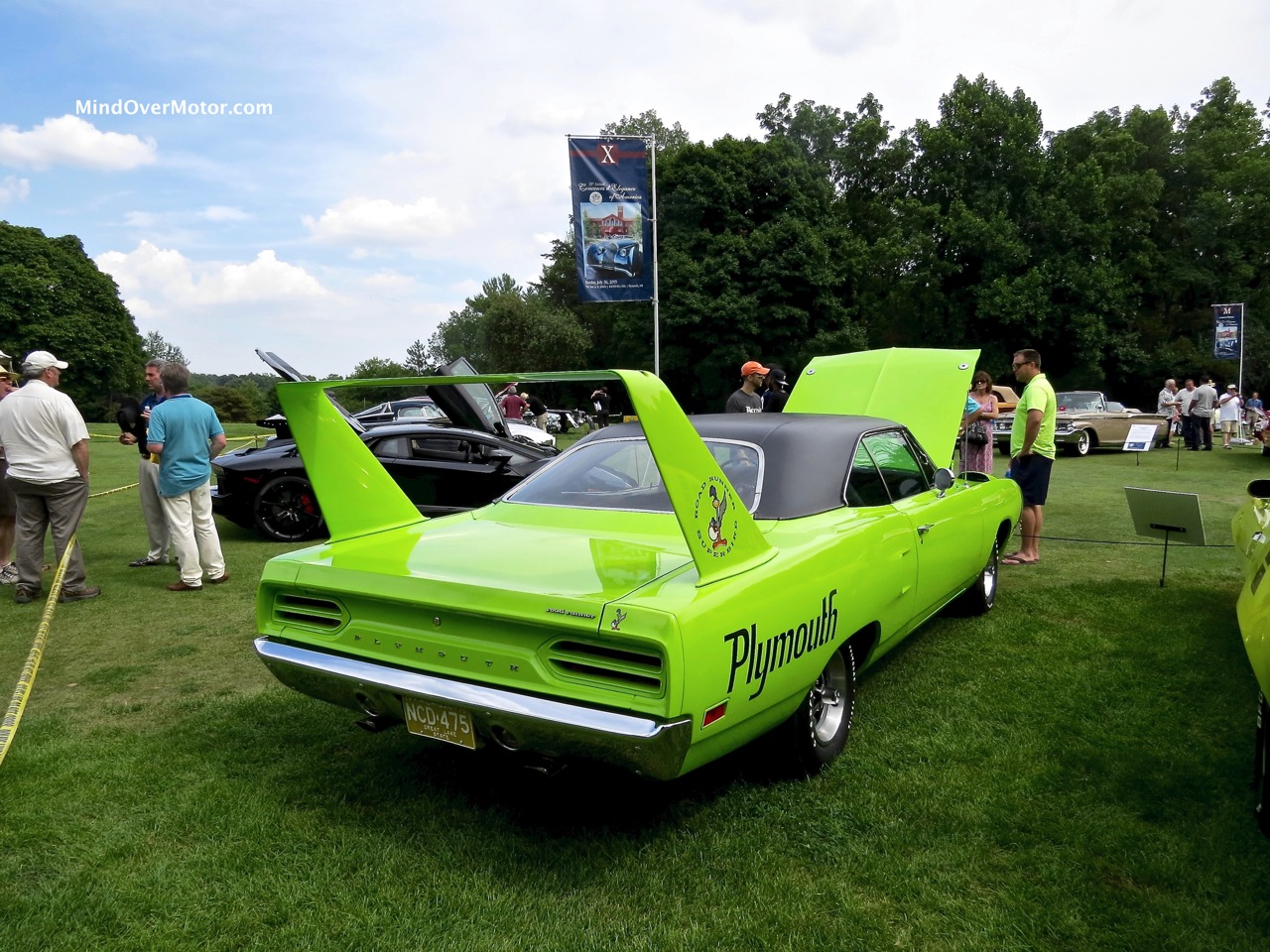 1970 Plymouth Superbird Rear
