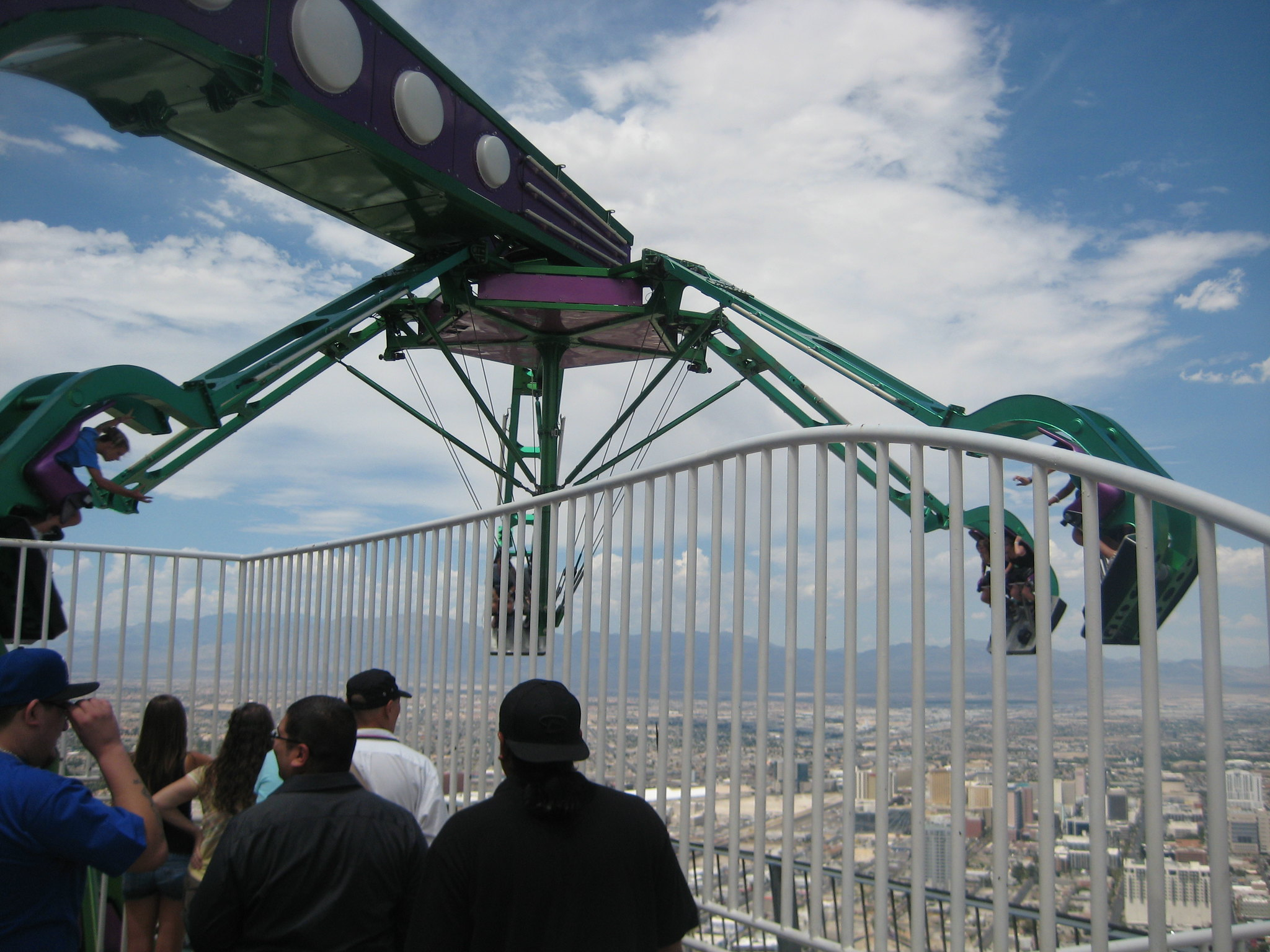 Stratosphere and Las Vegas 016