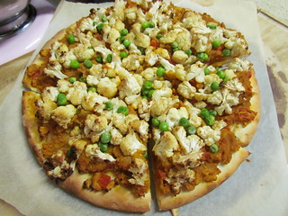 Indian Buffet Pizza