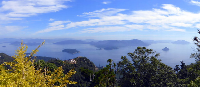 Seto Inland Sea from Mt Misen