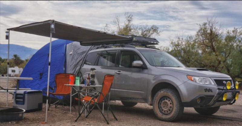 Subaru Outback Awning - Greatest Subaru