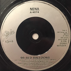 NENA:99 RED BALLOONS(LABEL SIDE-A)