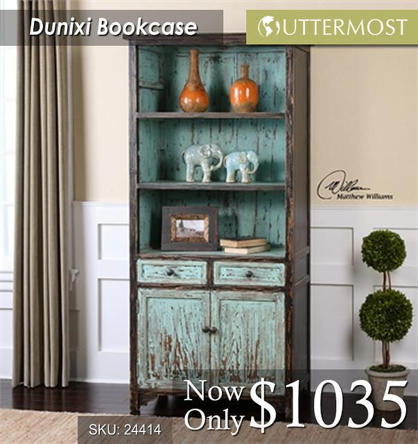 24414 Dunixi Bookcase $1035