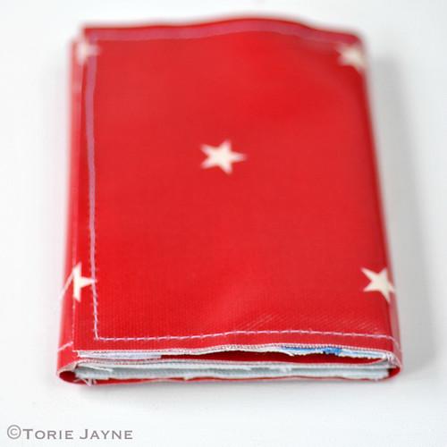 Boys Handmade folded Zip Wallet tutorial 15