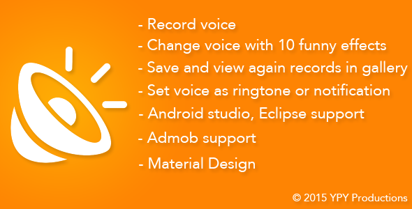 Codecanyon Funny Voice - Voice Changer