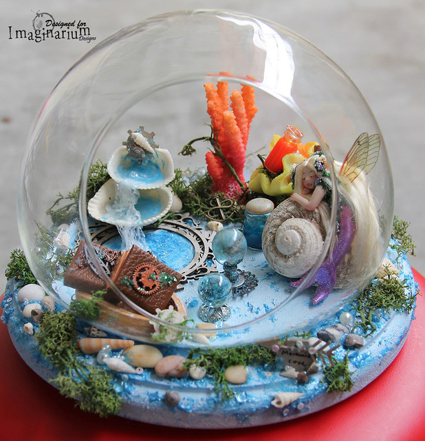 """Mermaid Cove"" Miniature"