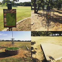 Have you played disc golf at Veterans Park? Located on Arkansas Ln and Spanish Dr in the @cityofarlington @arlingtonparks @discgolfprotour @frisbeegolf