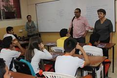 En centros educativos GAD Municipal capacita en temas ambientales