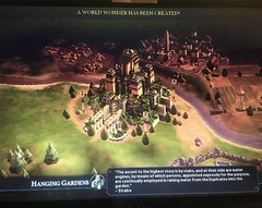 My first Great Wonder! #CivVI #OneMoreTurn #HangingGardens #Civilization