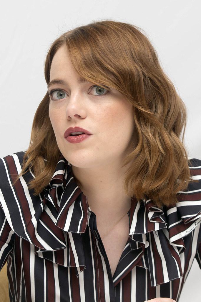 Эмма Стоун — Пресс-конференция «Ла-Ла Ленд» на «TIFF» 2016 – 21