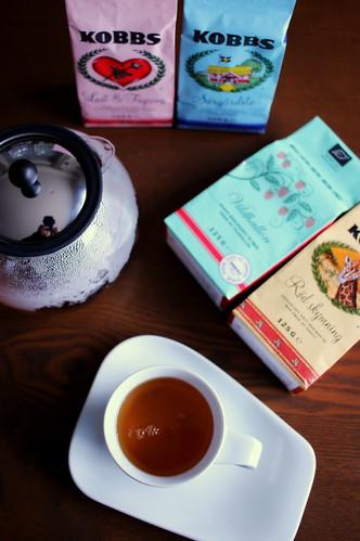 スウェーデン KOBBSの紅茶