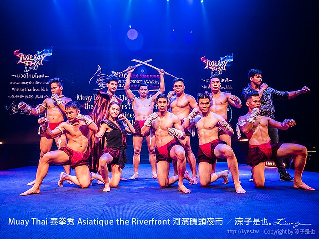 Muay Thai 泰拳秀 Asiatique the Riverfront 河濱碼頭夜市 35