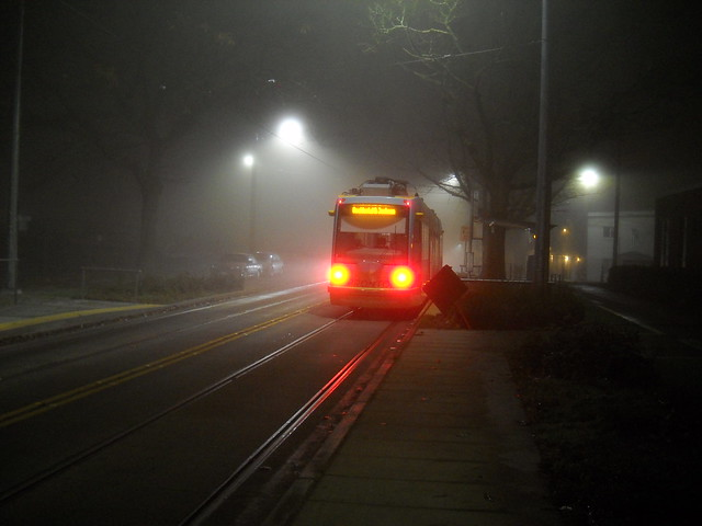 Misty Morning Streetcar
