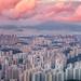 Landscape for Hong kong city by anekphoto