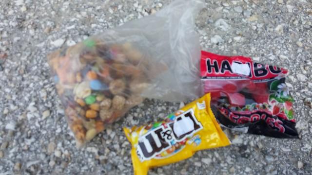 Trail mix bag