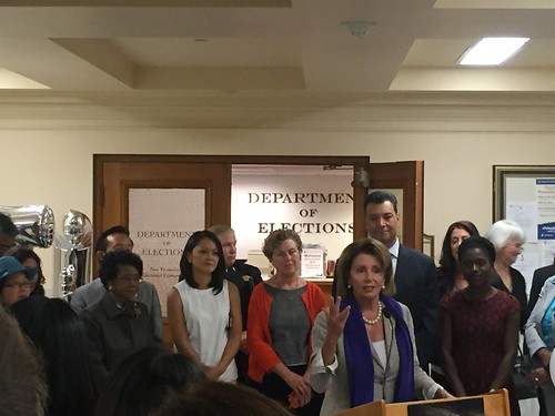 Congresswoman Pelosi celebrates Women's Equality Day