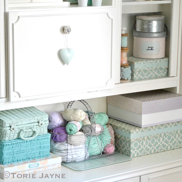 Organised craft storage
