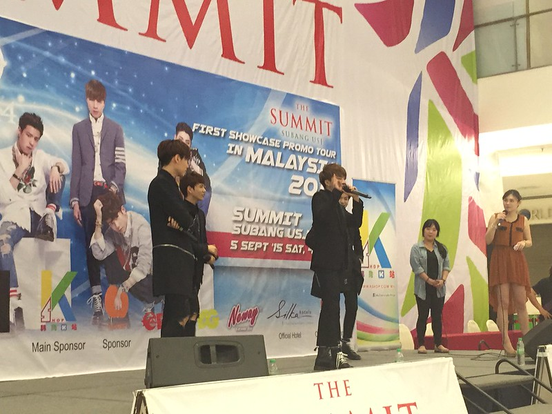 HIGH4 first showcase in Malaysia. SUMMIT USJ.