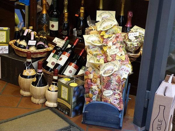 vins et pâtes