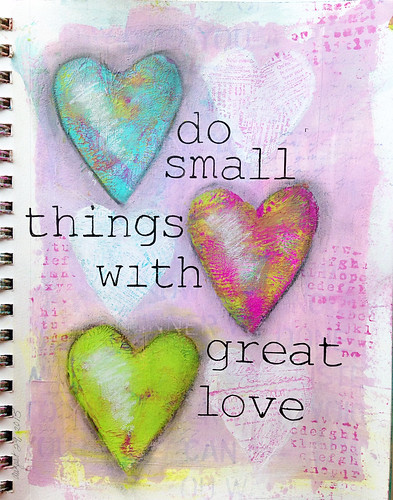 Small Things journal class