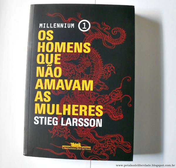 """""""Os homens que não amavam as mulheres"""" do Stieg Larsson"""