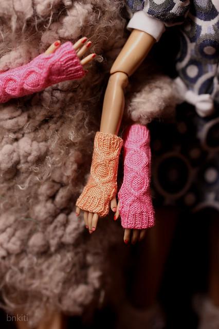 wrist warmers, color no.3 no.41