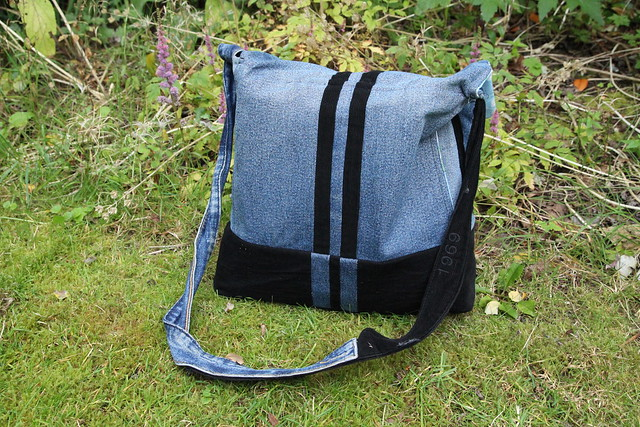 handmade nappy bag