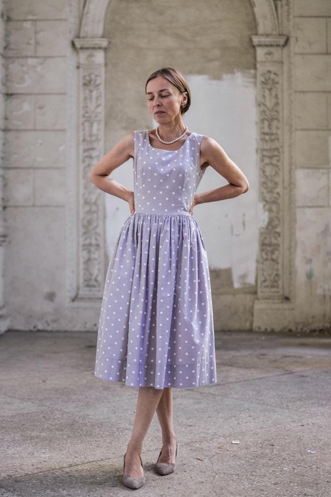 pastel polkadot dress 8
