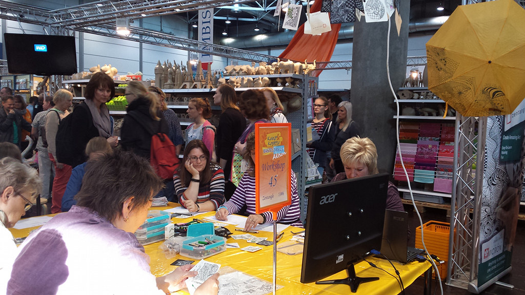 modell-hobby-spiel 2015_Zentangle workshop