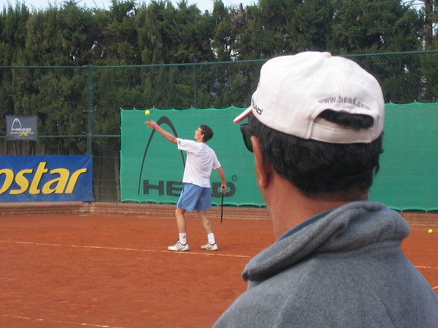 Andy Murray and Pato Alvarez