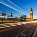 London lights on the Westminster Bridge by tuanland