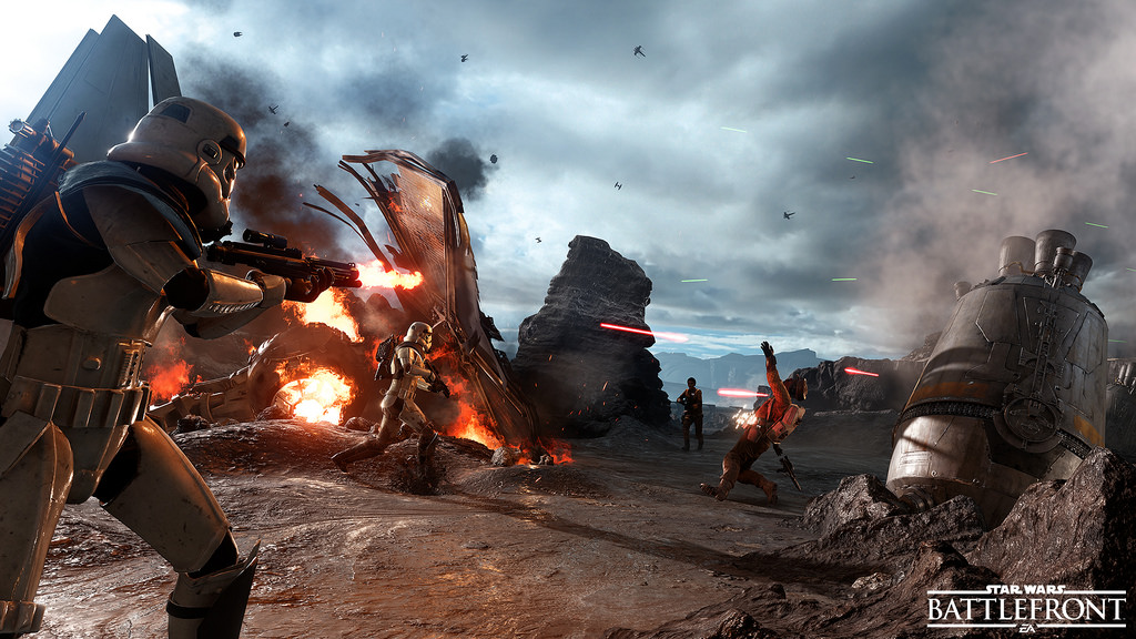 Kesan Bermain Star Wars : Battle Front Beta 3