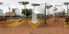 Handheld GoPro panorama of Ivi Triangle, Suva - virtual reality version in description