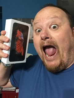 Ricky's excited for his iPhone 6s Plus.