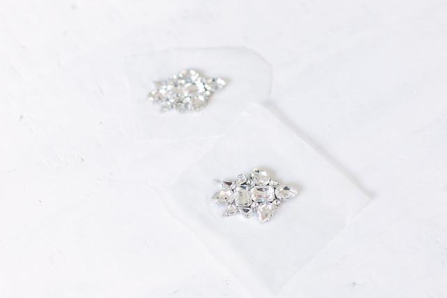 DIY Jeweled Earrings