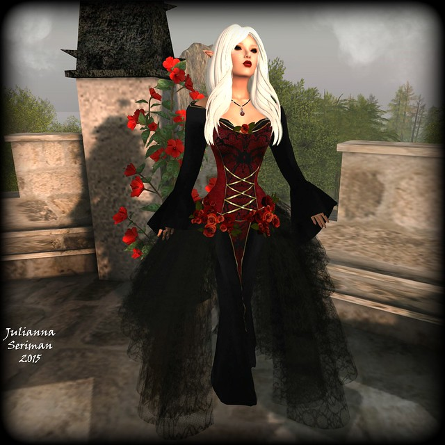 Lady of Dark Roses