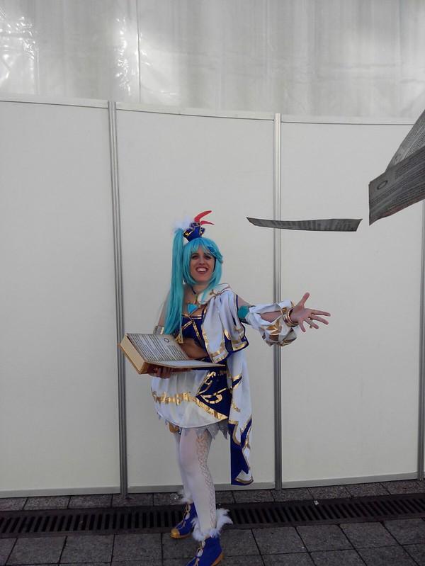 cosplay Lana de Hyrule Warriors