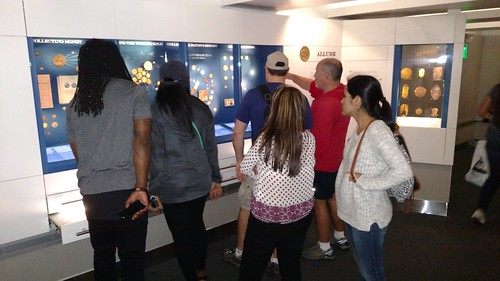 Visitors viewing the NNC exhibit