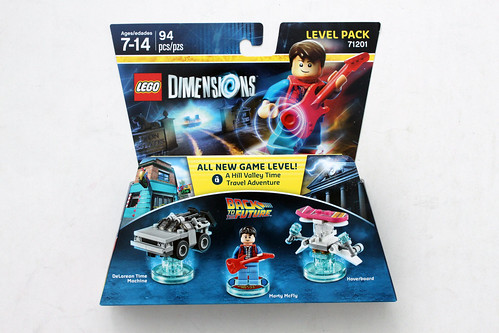 LEGO Dimensions Back to the Future Level Pack (71201)