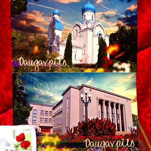 Latvia postcards