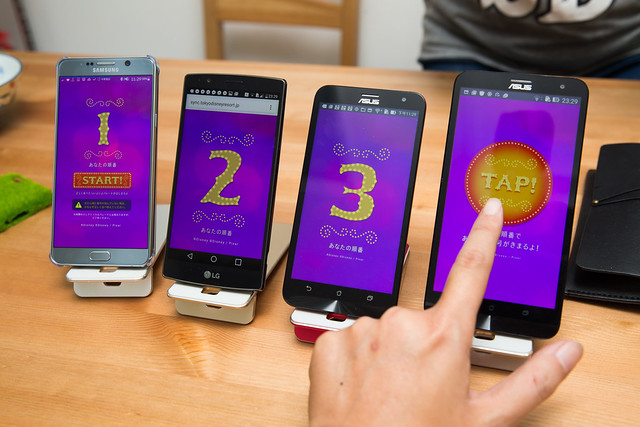 iphone / Android 都可玩!迪士尼 Disney 夜間遊行,免費免安裝教你玩 @3C 達人廖阿輝