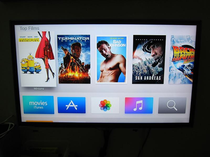 Apple TV (4th Generation) - Home Screen