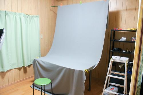 撮影ブースの整備